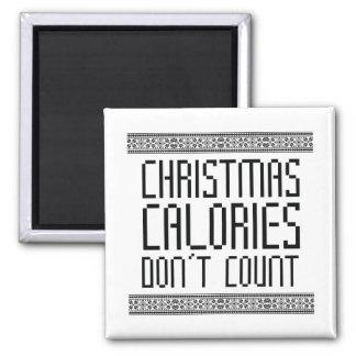Christmas Calories Magnet