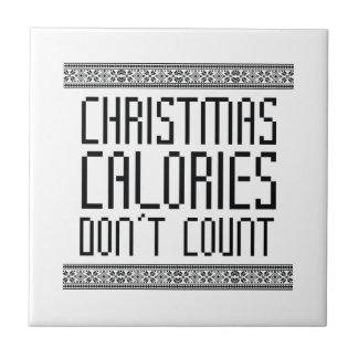Christmas Calories Tile