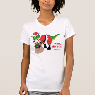 Christmas Camisole by Fishfry Designs: dinosaur T-Shirt