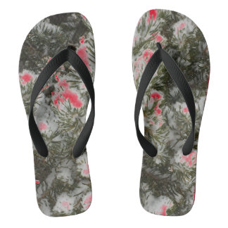 Christmas Camo Choose Color Flip Flops