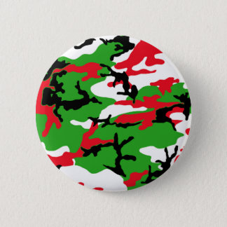 Christmas Camouflage 2 Inch Round Button