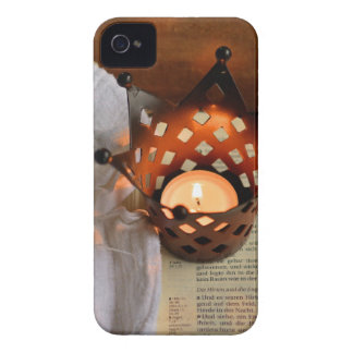 Christmas candle and bible Case-Mate iPhone 4 cases