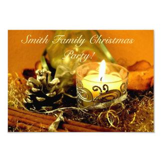Christmas Candle Card