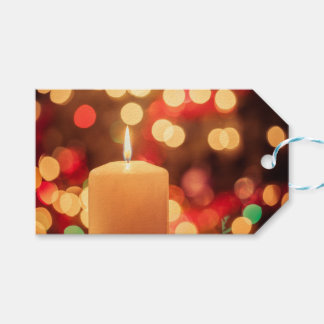 Christmas Candle Gift Tags