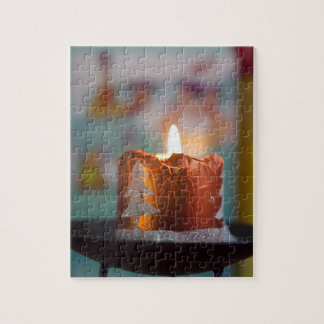 Christmas Candle Puzzle