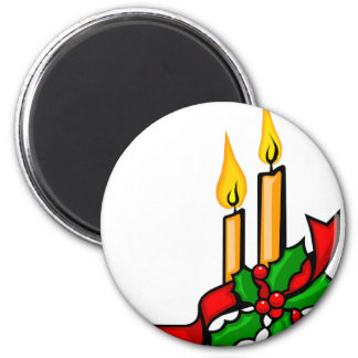 Christmas Candles Magnet