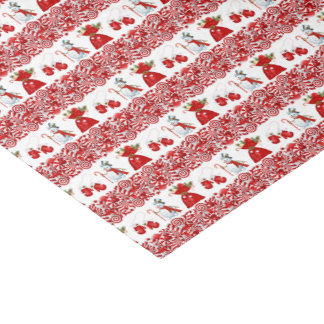 Christmas Candy and Goodies Tissue Paper