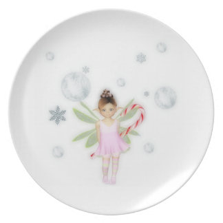 Christmas candy Fairy Plate