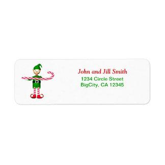 Christmas Candycane Elf