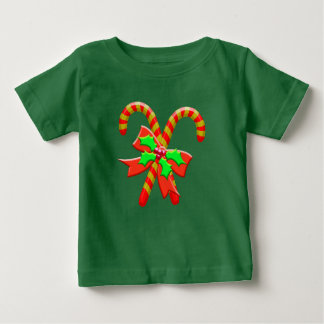 Christmas canes baby T-Shirt