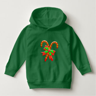 Christmas canes hoodie