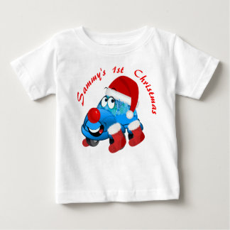 Christmas Car Cartoon Holiday Jersey T-Shirt