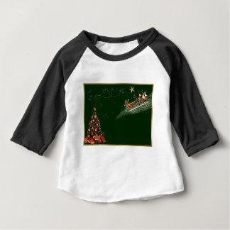 Christmas-card Baby T-Shirt