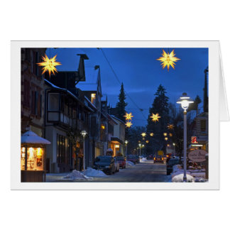 Christmas Card Black Forest town