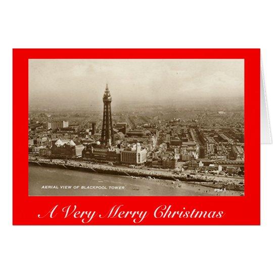 Christmas Card, Blackpool Card