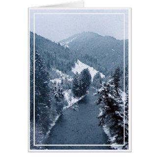 Christmas card, blank, 5 card