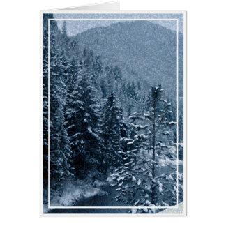 Christmas card, blank card 2
