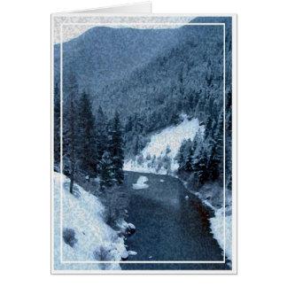 Christmas card, blank card 3