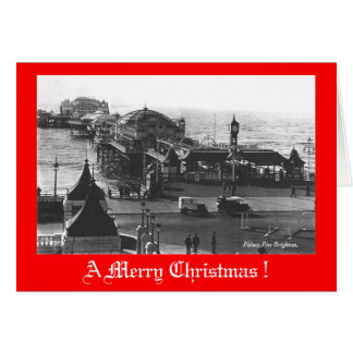 Christmas Card, Brighton Pier Card