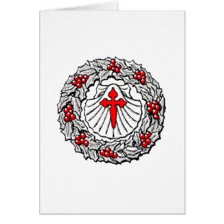 Christmas Card: Buen Camino Card