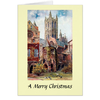 Christmas Card - Canterbury Cathedral