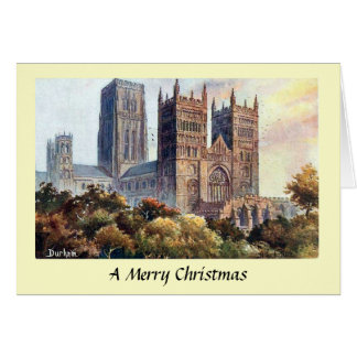 Christmas Card - Durham Cathedral
