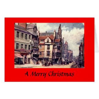 Christmas Card - Edinburgh