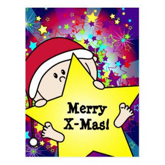 Christmas card - Engeltjes and Bengeltjes - baby Postcard
