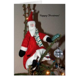 Christmas Card Father Christmas