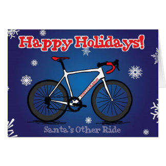 Christmas Card for Cyclists