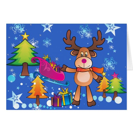 Christmas Card for Kids Card Exchanges