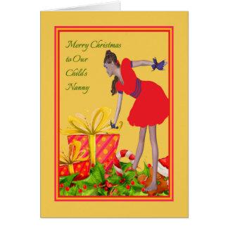 Christmas Card for Nanny