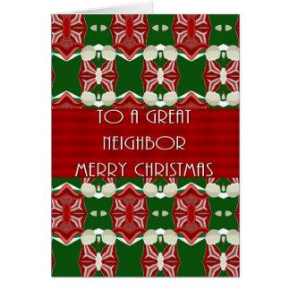 Christmas Card For Neighbor