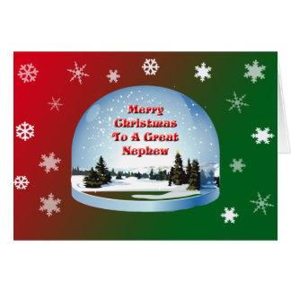 Christmas Card For Nephew