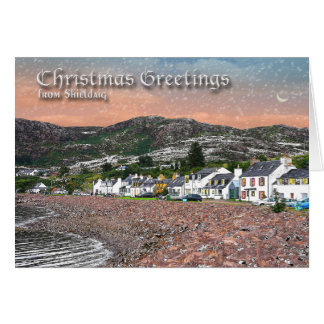 Christmas Card for Shieldaig, Wester Ross