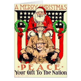 Christmas Card for someone in the Military