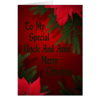Christmas Card For Uncle And Aunt