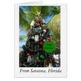 Christmas Card from Sarasota, Florida
