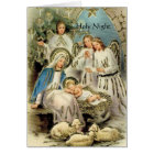Christmas card. Holy Night Religious inspired Card