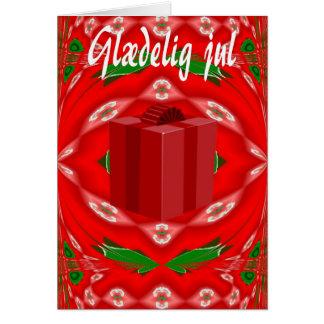 Christmas Card In Danish