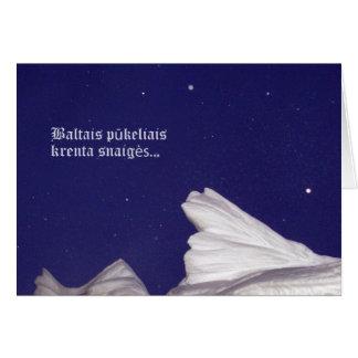 Christmas Card- Krenta Snaiges Card