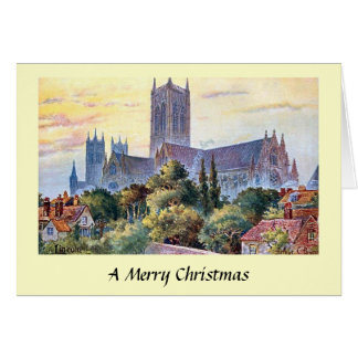 Christmas Card - Lincoln Cathedral