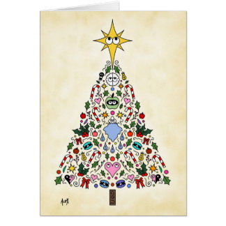 Christmas Card Miracle of Awakening Tree