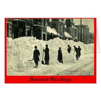 Christmas Card, Montreal Greeting Card