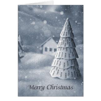 Christmas Card Noel Tree