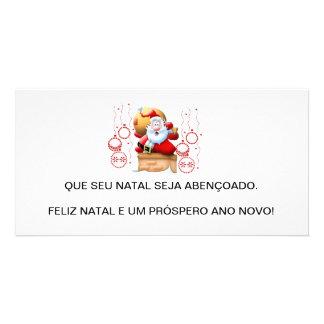 Christmas card photo greeting card