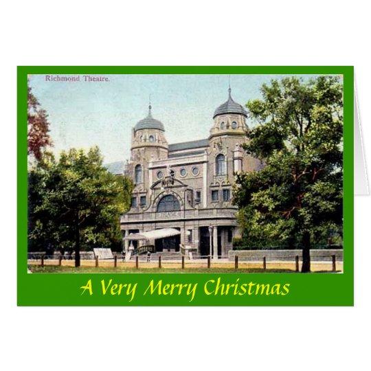 Christmas Card - Richmond Theatre, London