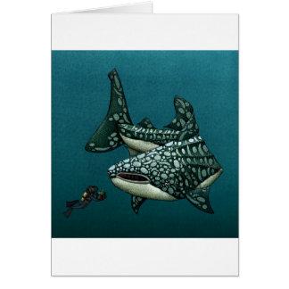 Christmas Card Shark