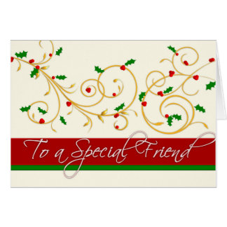 Christmas Card - Special Friend