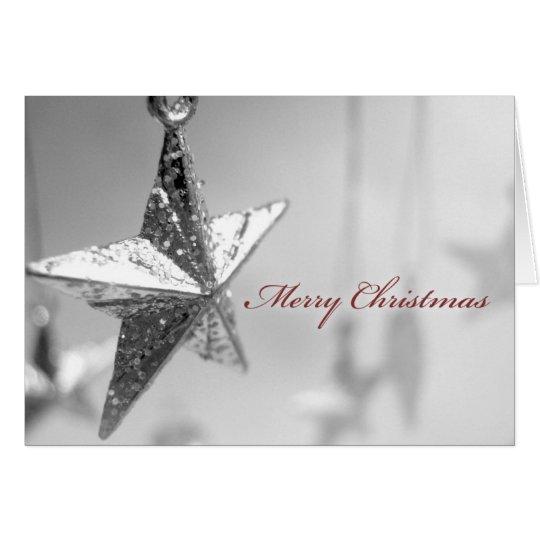 Christmas Card Star Ornament